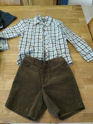 pantalon Gocco y camisa talla 3/4