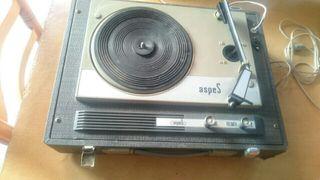 Tocadiscos, es de los años 60