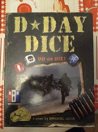 D Day Dice juego de mesa