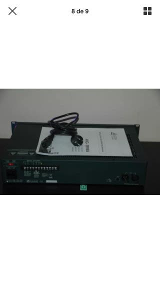 Amplificador / etapa potencia profesional