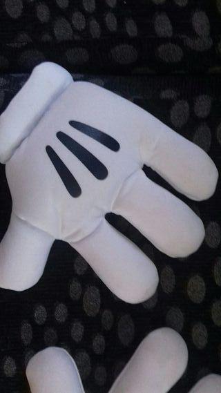 guantes de miki mouse