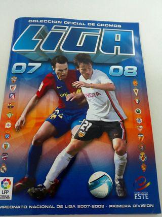 Album cromos de futbol liga 07-08