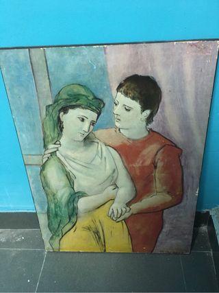 Cuadro motivo de Picasso