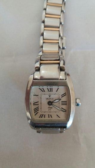 """Reloj mujer """"VICEROY"""" en acero de 20 x 20 mm."""