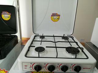 Cocinas de gas de 2, 3 y cuatro fuegos. Nuevas