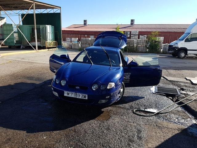 Hyundai tiburón 2002