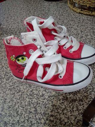 Botas niña roja
