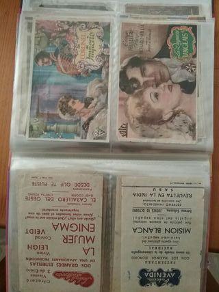 80 entradas de cine antiguas años 47 / 50