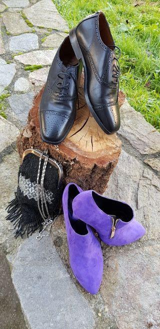 lote zapatos y bolso