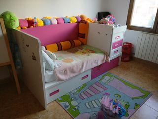 Cama infantil compacta