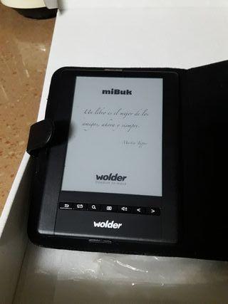 """Ebook. Libro electrónico Wolder 6"""""""