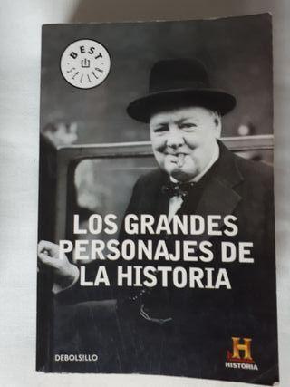 Libro Los grandes personajes de la historia