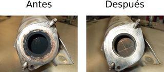 Regeneracion filtro particulas