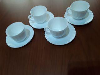 4 tazas arcopal