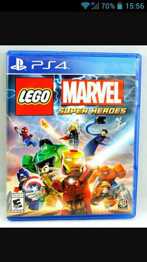 Juego Ps4 Lego Marvel Superheroes De Segunda Mano Por 16 En