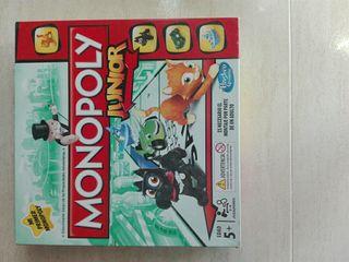 Juego monopoly junior