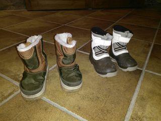 botas nieve niño / botes per la neu nen