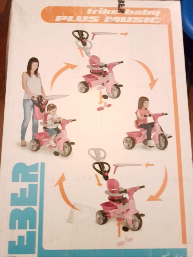 Triciclo infantil evolutivo