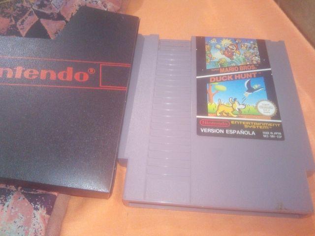 Juego Nintendo Nes Mario Bros Duk Hunt De Segunda Mano Por 12 En