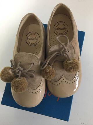 Zapatos de niño de piel para celebración
