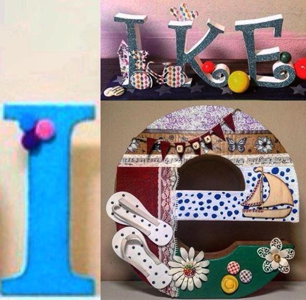 letras, siglas personalizadas