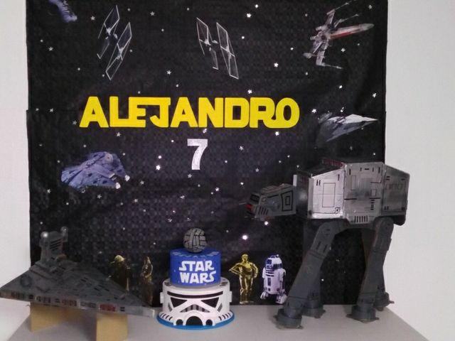 Decoracion Cumpleanos Star Wars De Segunda Mano Por 30 En L Eliana