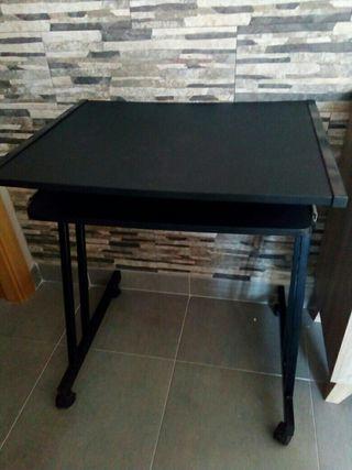escritorio negro