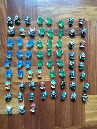 67 figuras World of Warriors