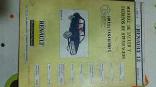 Manual de taller Renault 12.