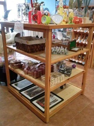 estantería/isleta de madera