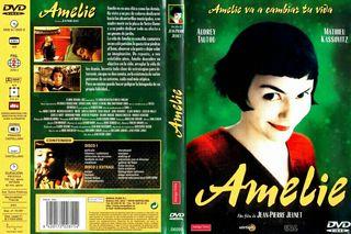 """Amelie"" película DVD"