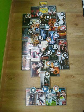 57 Películas y Juegos PSP