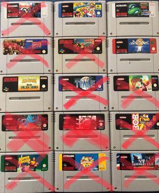 Juegos Super Nintendo - Super Nes
