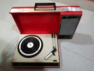 Tocadiscos Philips 1970