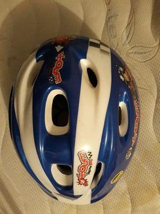 casco de bici niño