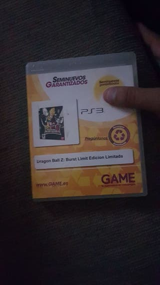 dragon ball z:burst limit edicion limitada Ps3