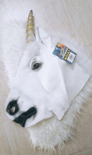 Careta de unicornio