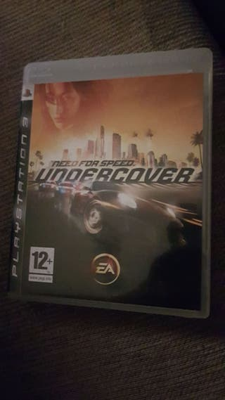 need for speed: undercorver ps3