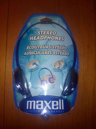 Auriculares MAXELL Nuevos sonido