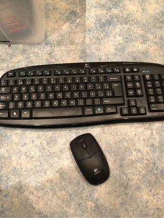 Logitech MK250 cordless desktop