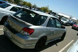 alerón Subaru impreza wrx wagon