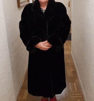 Abrigo de mujer de pelo