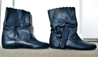 Real leather brand new boots size 38 made in Italy