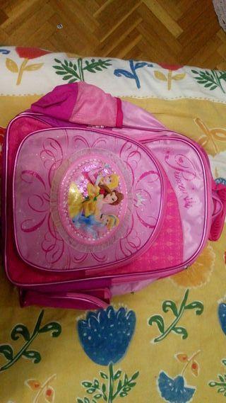 mochila de princesas