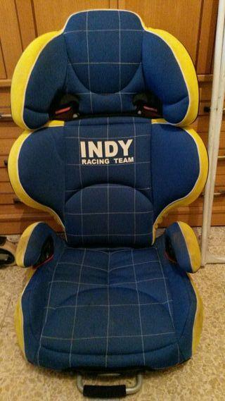 Silla coche isofix Jane Indy Racing, como nueva