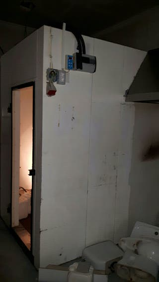 Cámara refrigerada de paneles