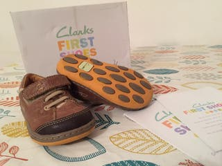Clarks First Step Shoes UK 4