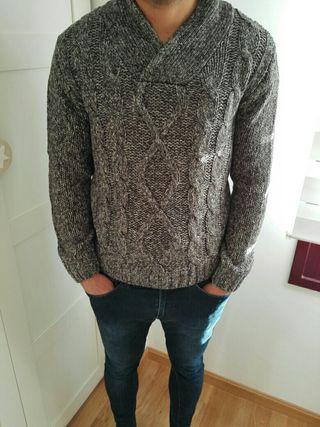 Jersey gris jaspeado chico