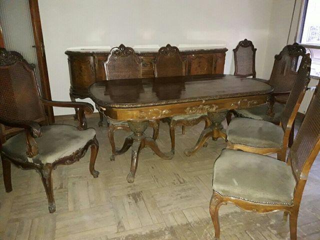 Muebles comedor.sillas y mesa. de segunda mano por 650 € en Valencia ...