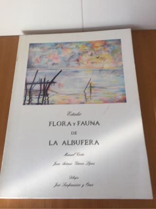 Llibro estudio Flora Fauna de la Albufera